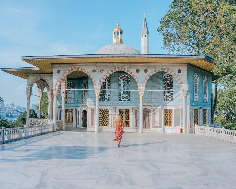 Topkapi palace in Istanbul, Turkey, 3 days in Istanbul
