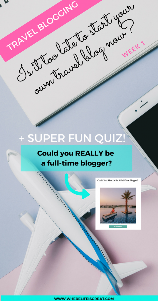 could you really be a full time blogger